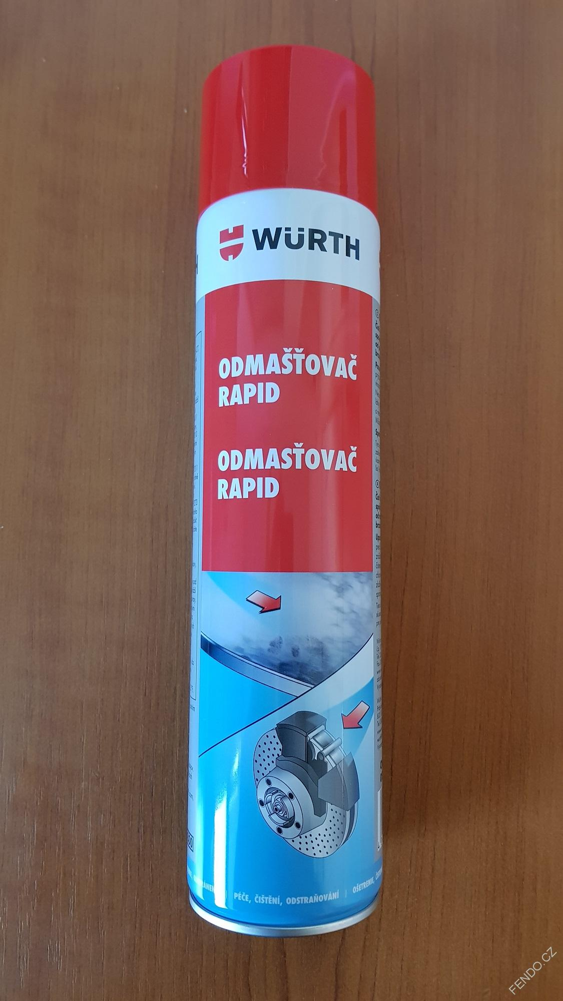 Odmašťovač RAPID WÜRTH 600ML